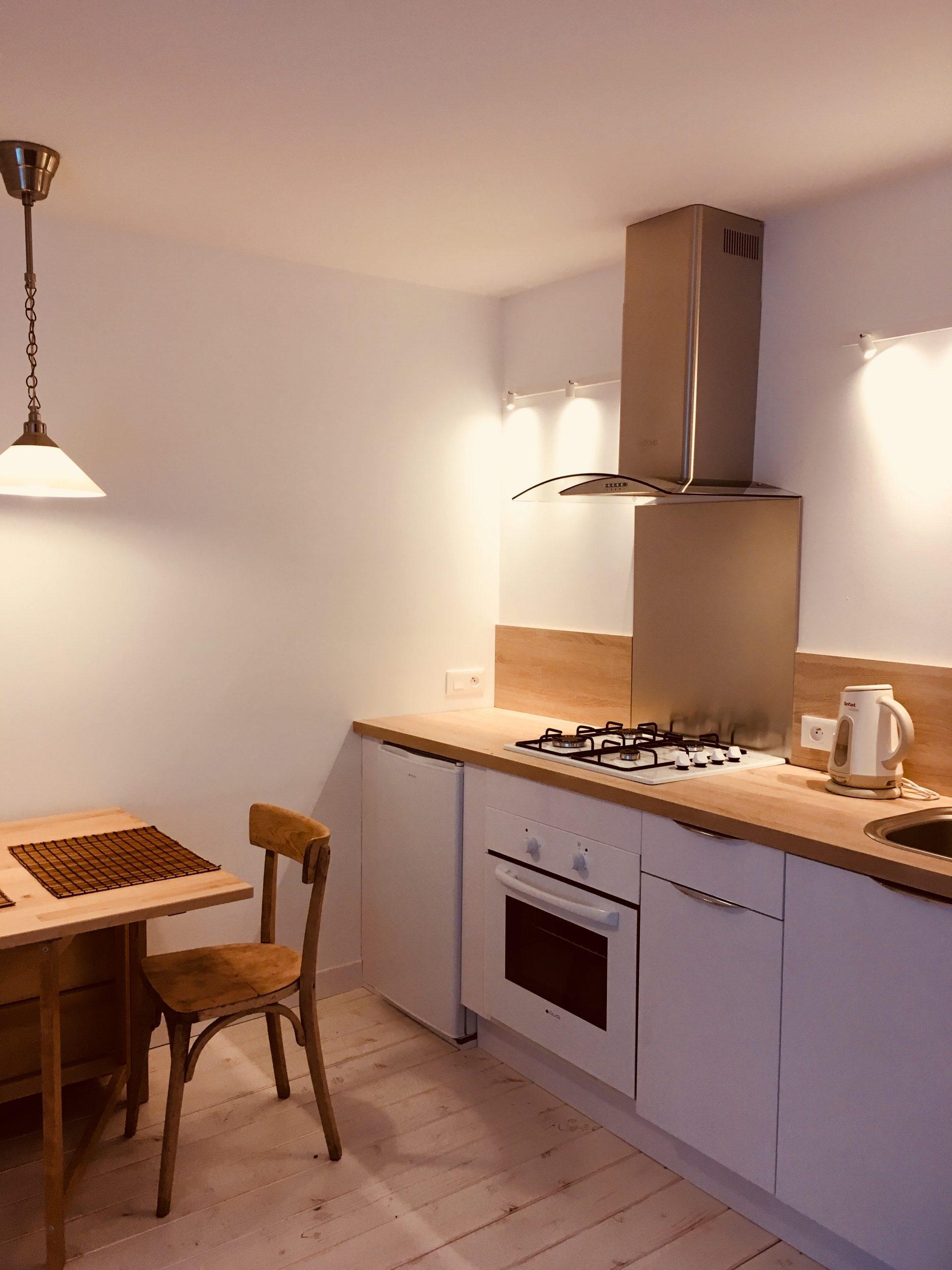 Appartement 4, cuisine